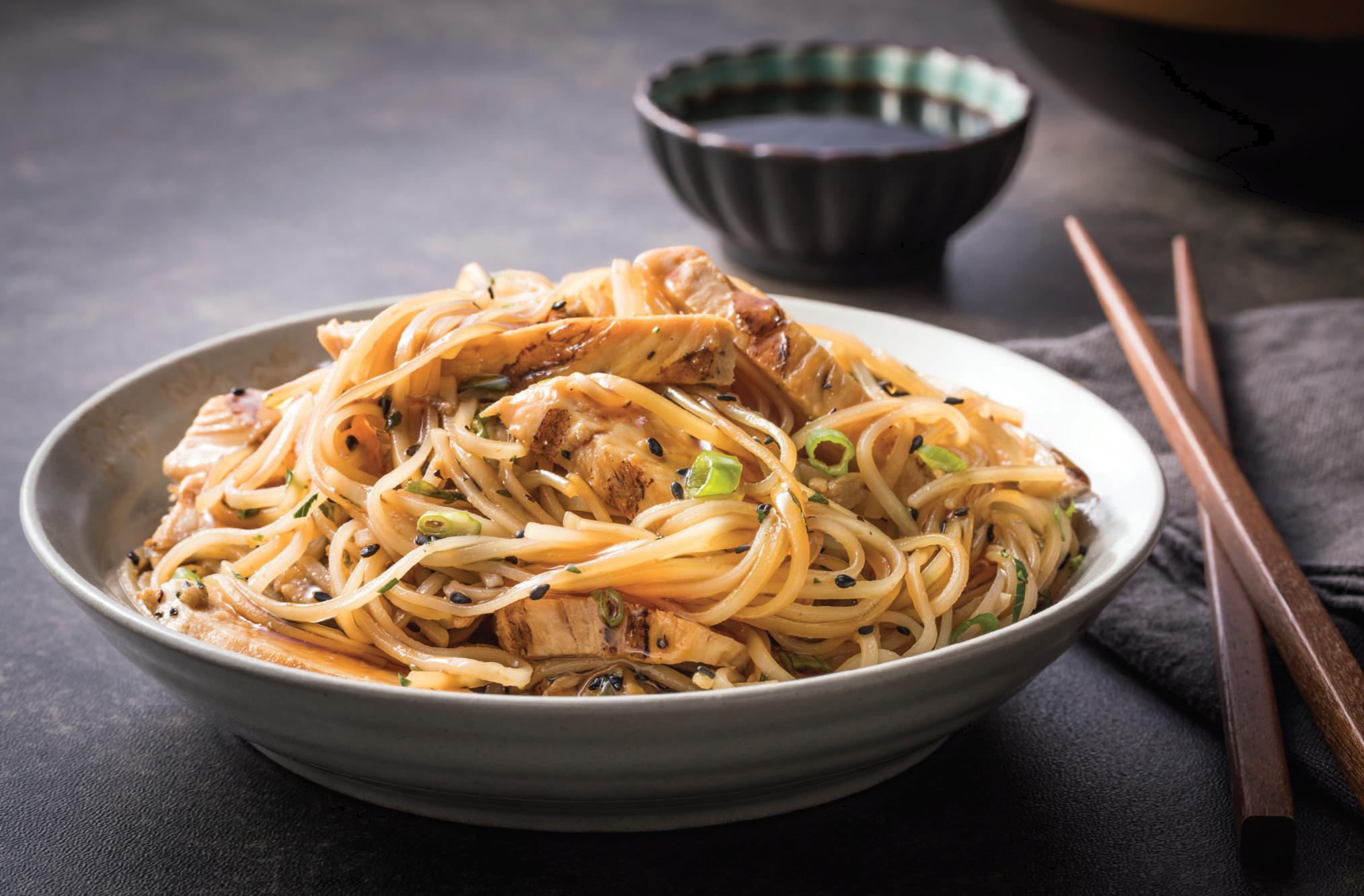 Asian-Style Noodle Salad - GF