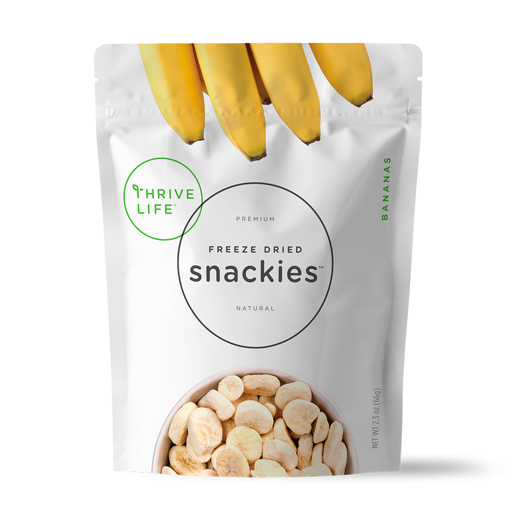 Bananas - Snackies Pouch