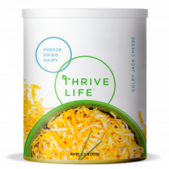 Shredded Colby Jack Cheese - Freeze Dried