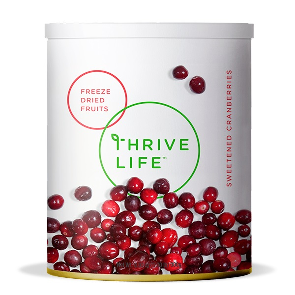 Sweetened Cranberries - Freeze Dried