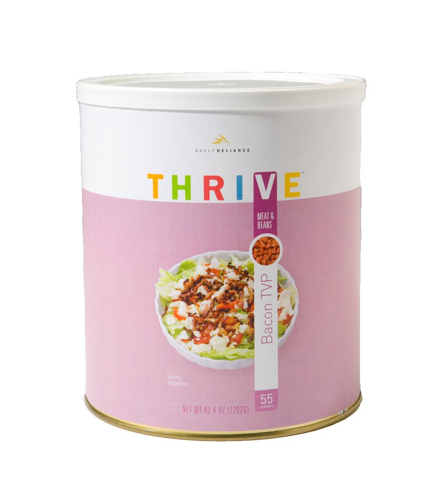 Proteína vegetal texturizada (TVP), sabor tocino