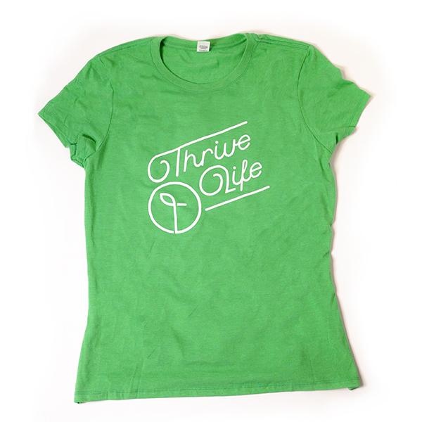 Womens Green Frost T-Shirt