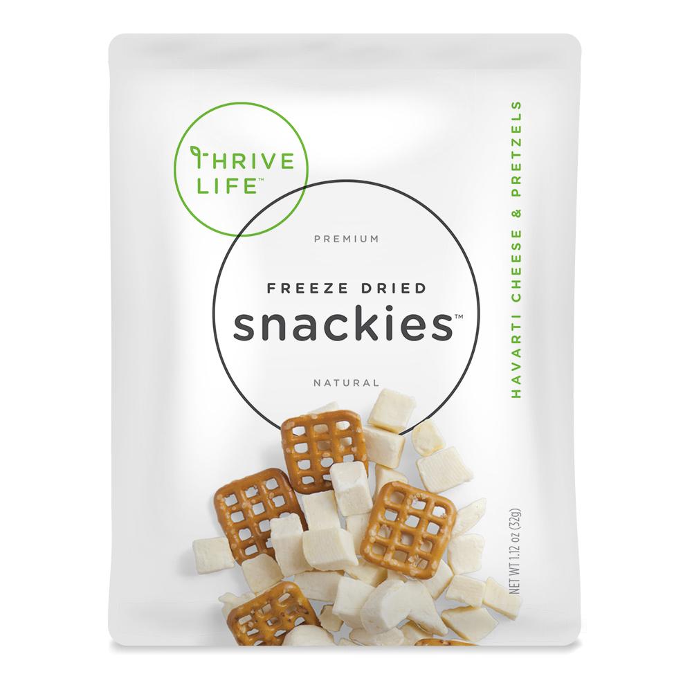 Havarti Cheese & Pretzels Snackies Singles 8-Pack