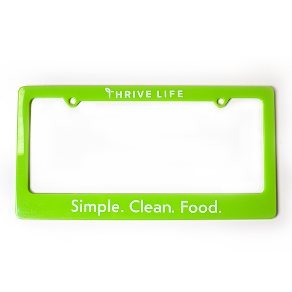 Thrive Life License Plate Frame