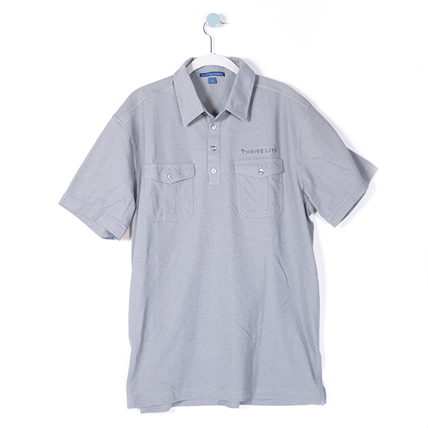 Mens Polo - Grey (Medium)