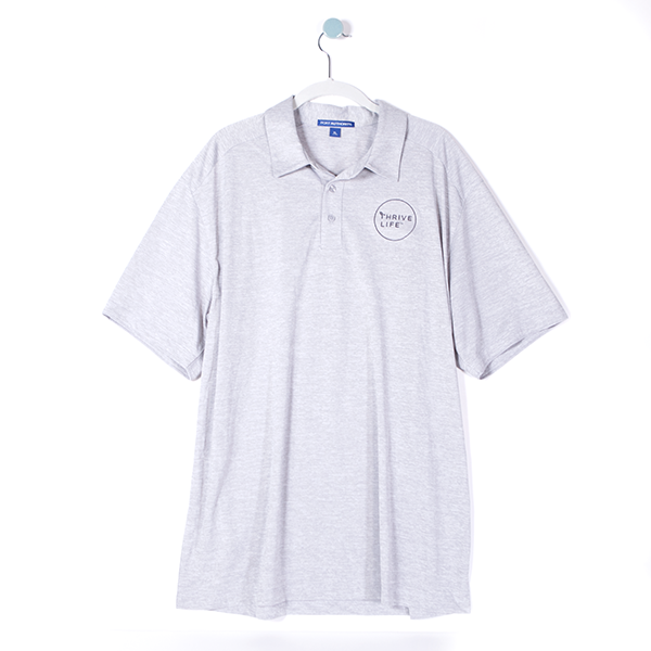 Mens Polo - Light Grey