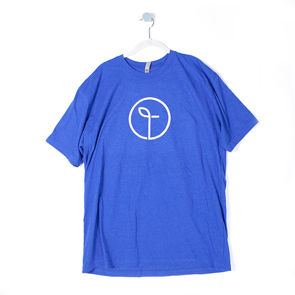 Men's Monogram T-Shirt - Blue