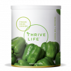 Green Bell Peppers - Freeze Dried