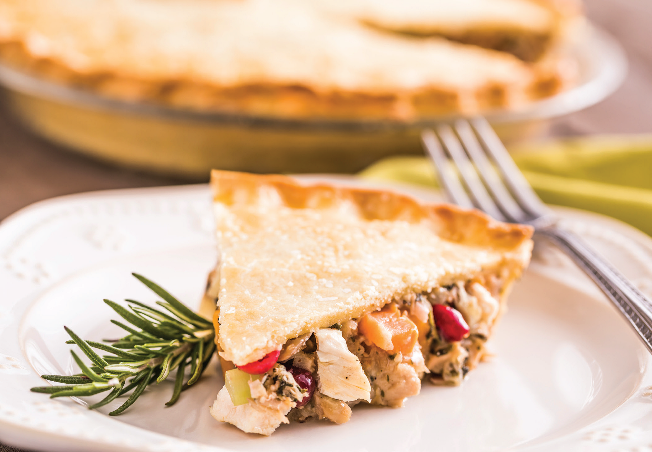 Chicken Cranberry Pot Pie