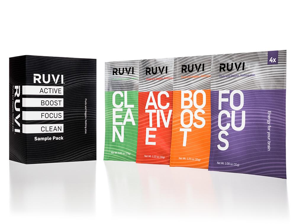 (Pre-Order) Ruvi Sample 4 Pack
