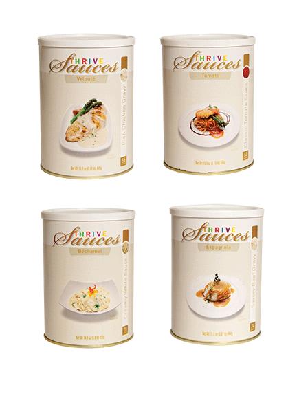 Sauce Variety 4-Pack