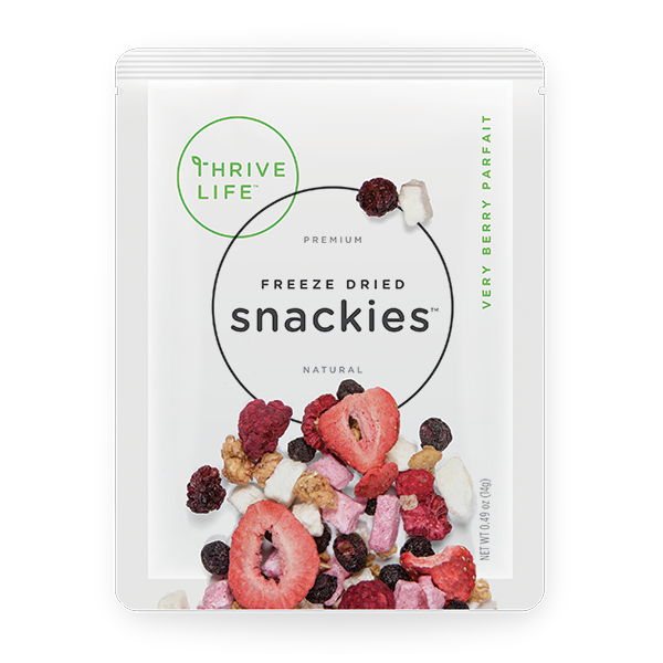 Very Berry Parfait - Snackies Singles 8-Pack