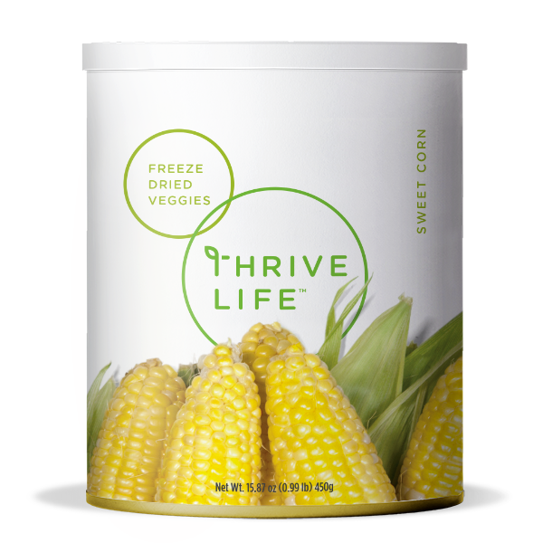 Sweet Corn - Freeze Dried