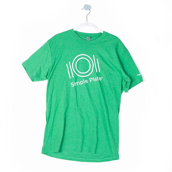 Unisex T-Shirt - Simple Plate