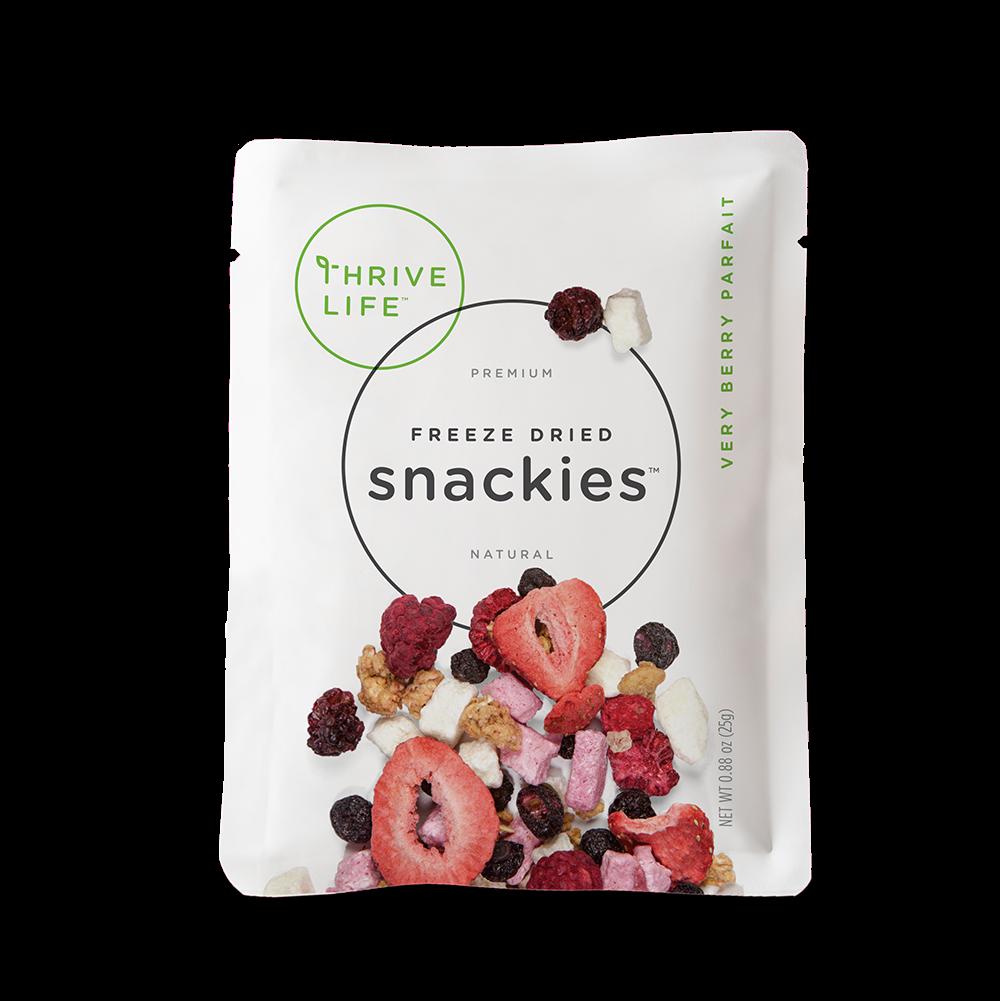 Very Berry Parfait - Snackies Singles 8-Pack