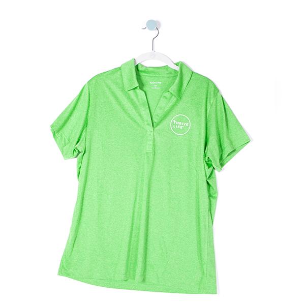 Womens Polo - Green