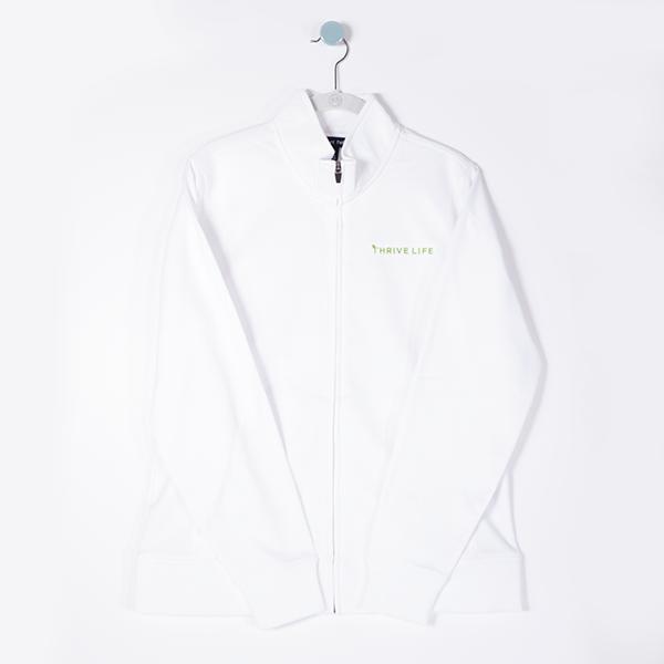 Women's Thrive Life Jacket - White